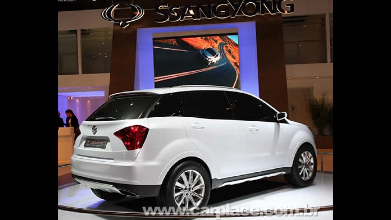 SsangYong apresenta o C200 Concept 2008 em Paris para mudar conceito