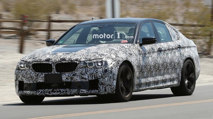 Informes do novo BMW M5 - Câmbio de oito marchas e mais de 600 cv