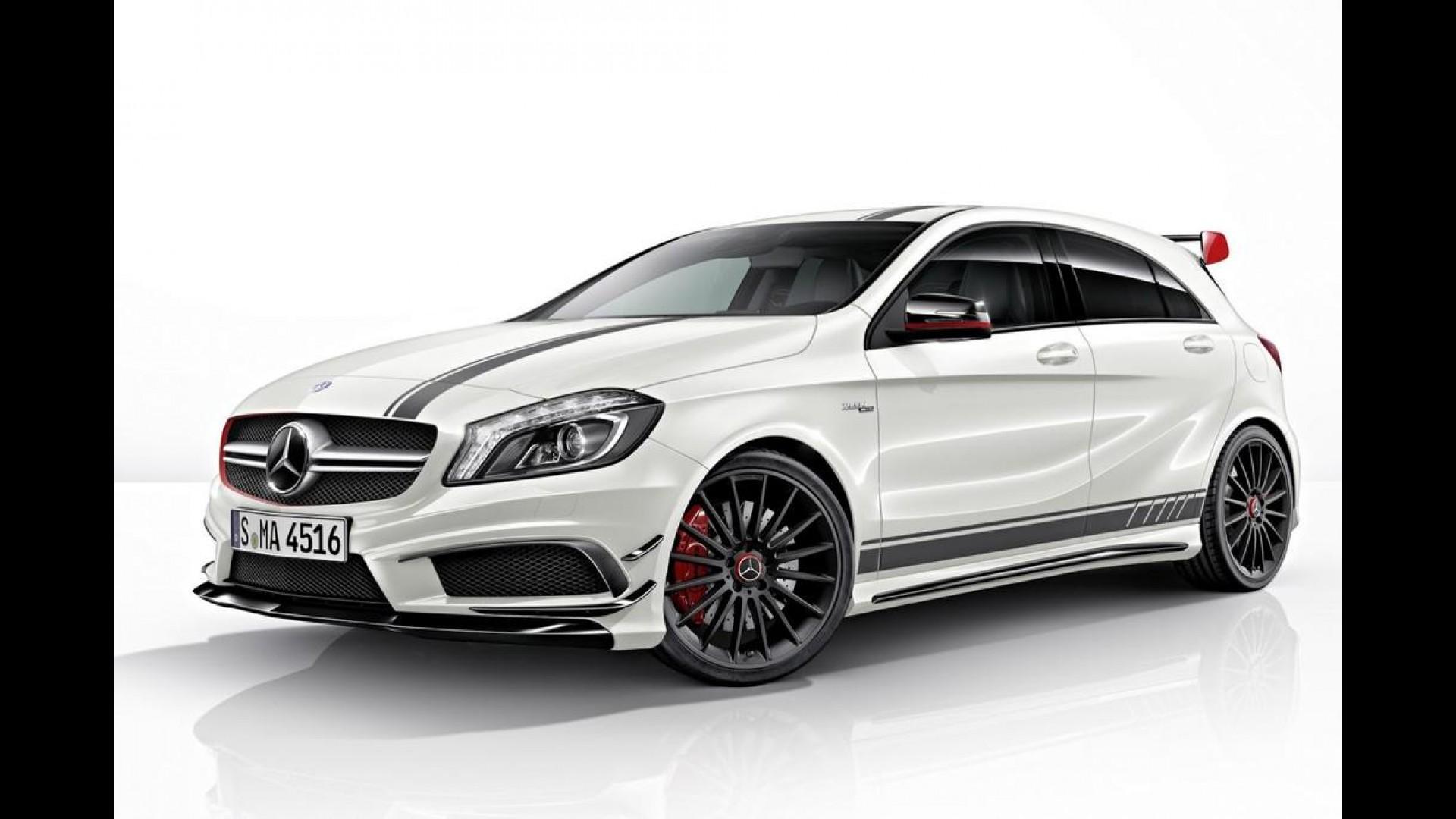 Mercedes benz a45 amg edition 1 for Amg motors mercedes benz