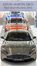 Aston Martin DB11'in üretimi başladı