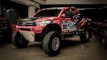 2017 Toyota Hilux Evo rally car