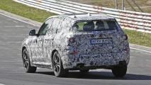 Yeni BMW X3 Nürburgring'de kamuflajlı görüntülendi