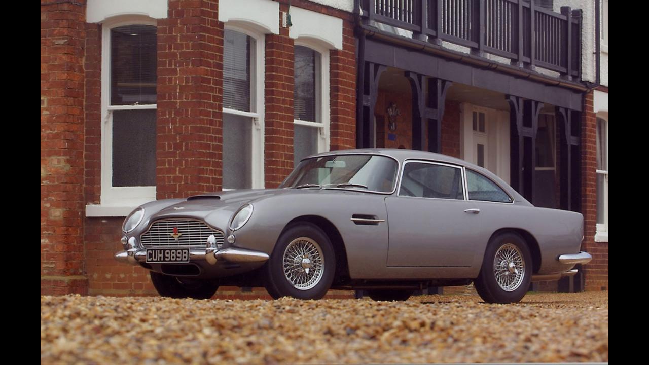 L'Aston Martin DB5 di 007, James Bond(1964) -
