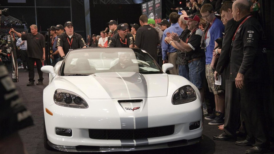 First 2013 Corvette 427 Convertible auctions for $600K