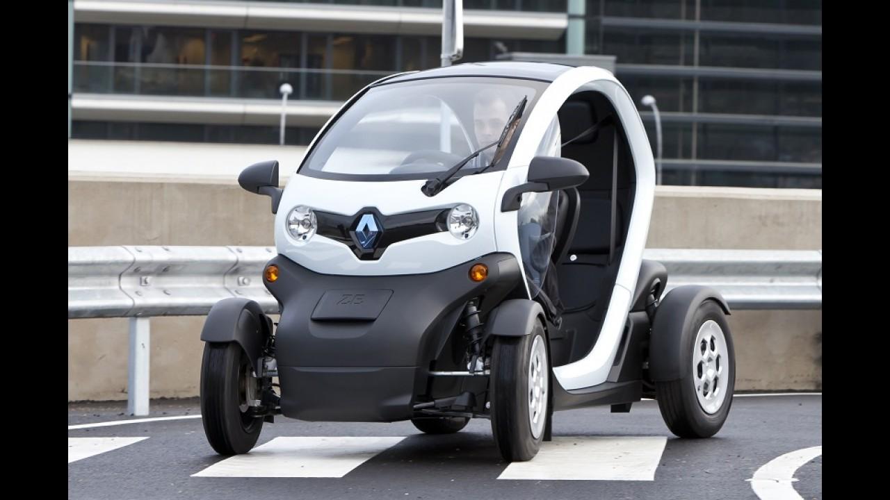 Renault Zoe foi o carro elétrico mais vendido na Europa em 2015