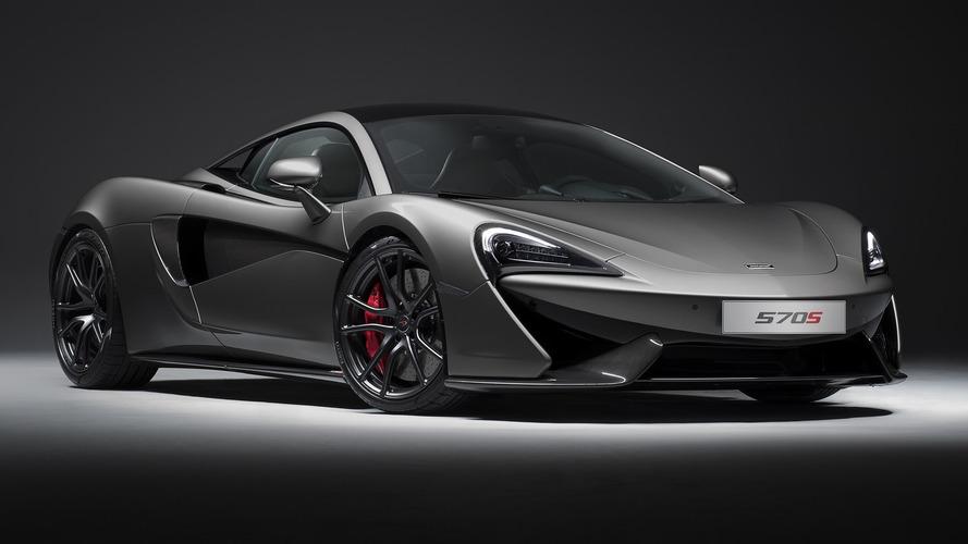 McLaren 570S, Track Pack ile karbon fiber diyetine girdi