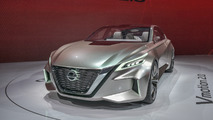 Nissan Vmotion 2.0 concept live in Detroit