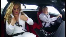 Vídeo: candidatas a Miss Universo a bordo do Mercedes SLS AMG Coupe