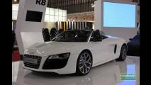 Salão do Automóvel: Fotos do Audi R8 Spyder