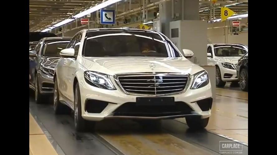 Vídeo: Mercedes-Benz faz teaser do novo S 63 AMG