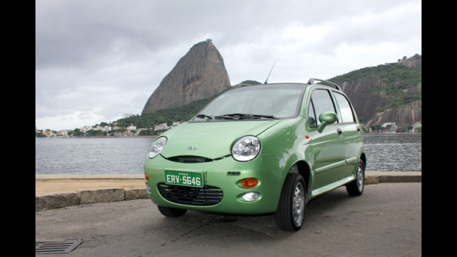 Chery triplica vendas no Brasil em 2011 graças ao compacto QQ