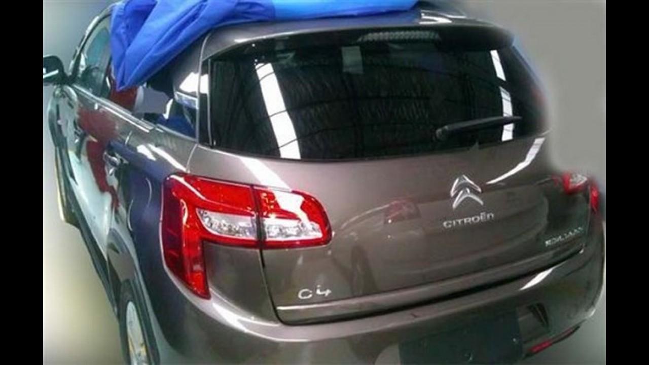 Novo Citroën C4 Aircross foi flagrado na China