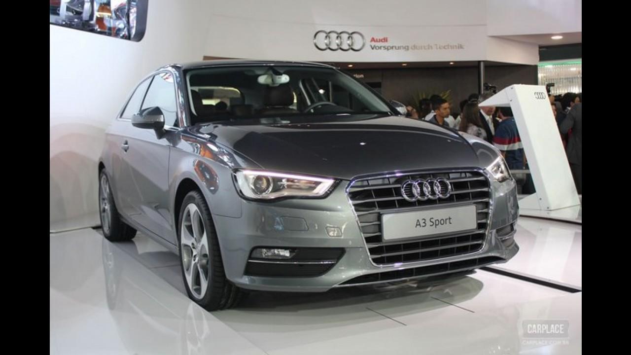 Audi A3 Sport 1.8 Turbo de 180 cv chega por R$ 115 mil