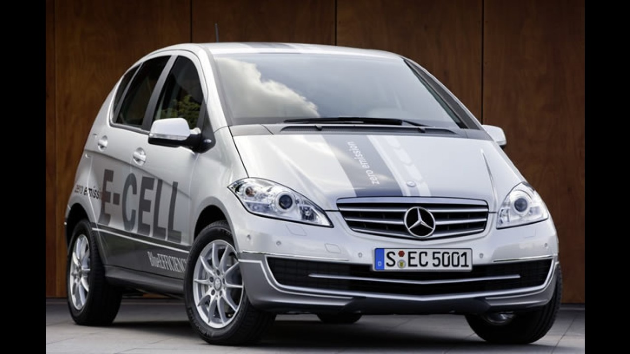 Mercedes Classe A E-CELL (elétrico) tem autonomia de 200 km