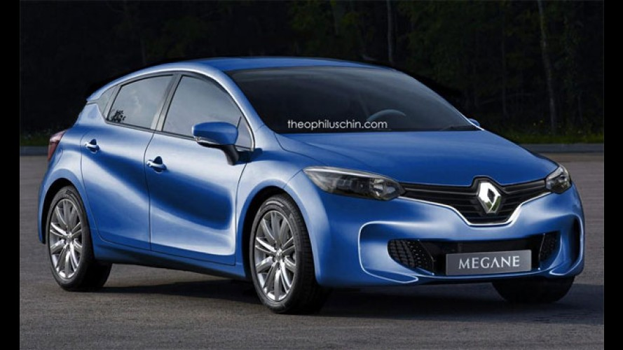Projeção: veja o Renault Megane 2016 baseado no conceito Eolab