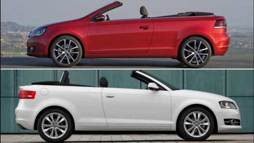 """Usate """"scoperte"""": A3 cabrio o Golf Cabrio?"""