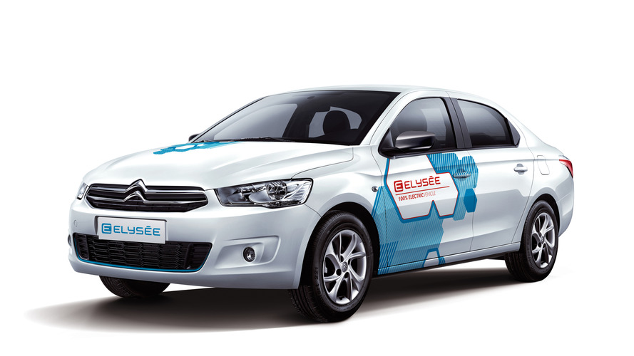 Citroen E-Elysee brings electric power to Beijing