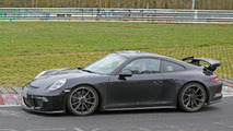 2017 Porsche 911 GT3 facelift spy photo