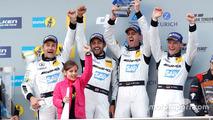 Race winners on the podium