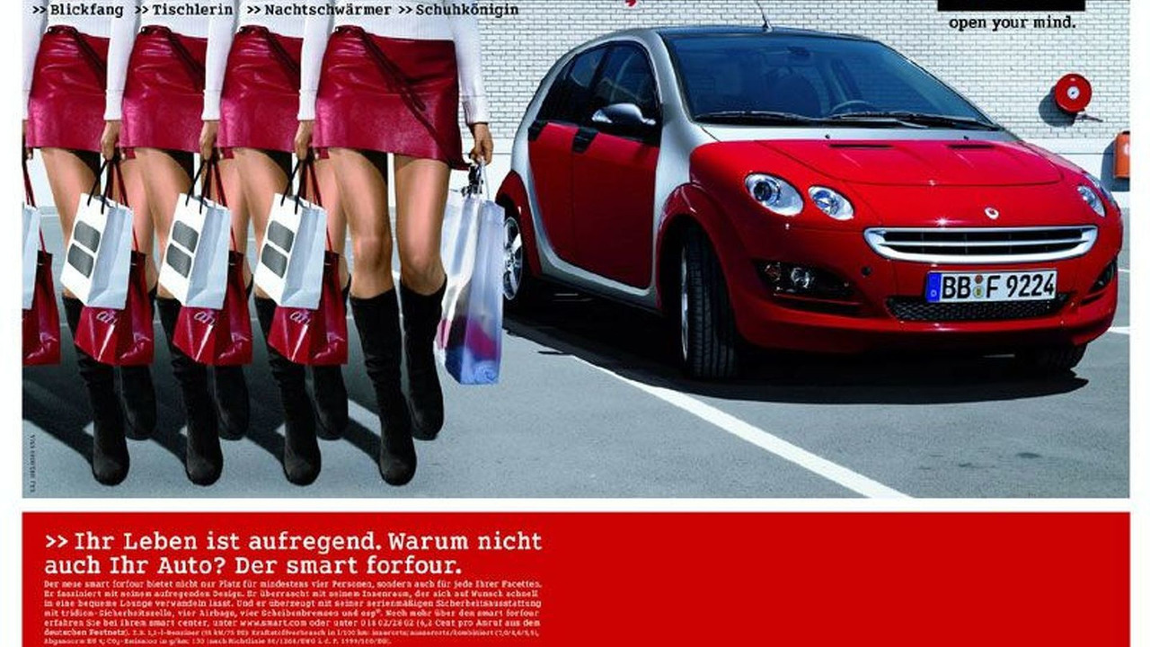 smart forfour advertisement