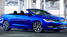 2015 Chrysler 200 Convertible render