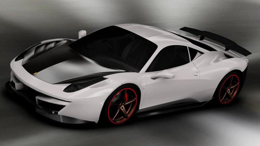 DMC Ferrari 458 Italia Estremo Edizione teased