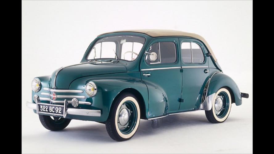 Renault 4 CV: Vor 60 Jahren kam das ,Cremeschnittchen