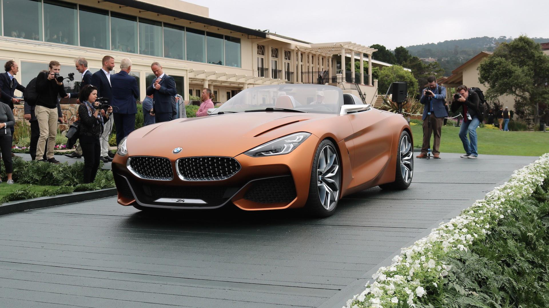 bmw z4 concept more dynamic close to production. Black Bedroom Furniture Sets. Home Design Ideas