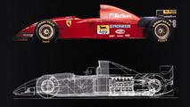 Ferrari 412 drawing