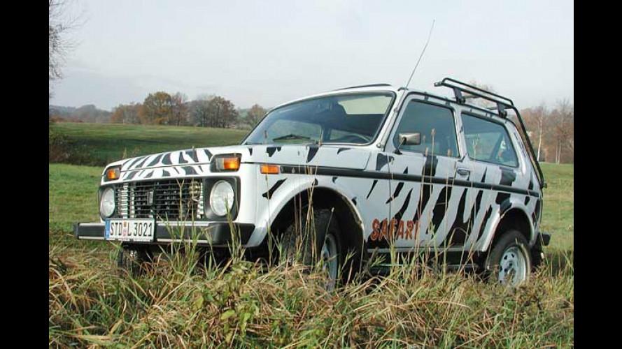 Lada Niva 1.7i Autogas: Der Kurier des Sparens
