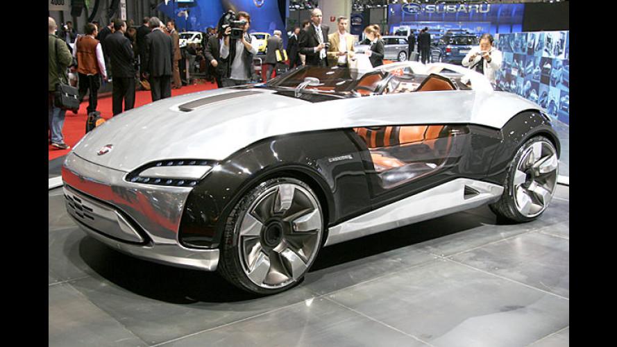 Roadster auf Panda-Basis: Bertone Barchetta in Genf
