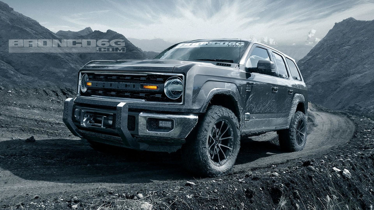 2020 Ford Bronco Will Have Four Doors And 325 HP