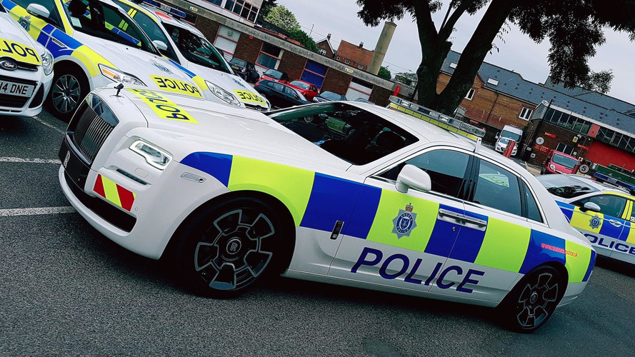 Rolls-Royce Ghost Police Car Is For The Affluent Offenders