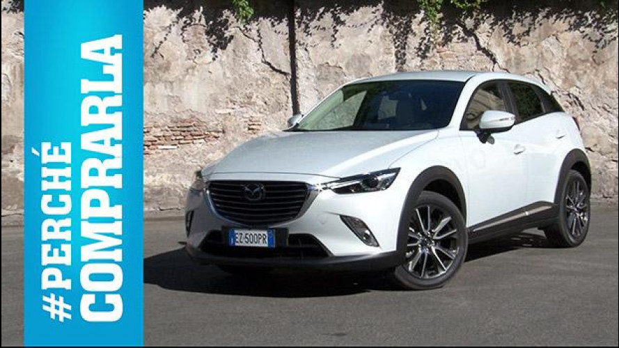 Mazda CX-3, perché comprarla… e perché no [VIDEO]