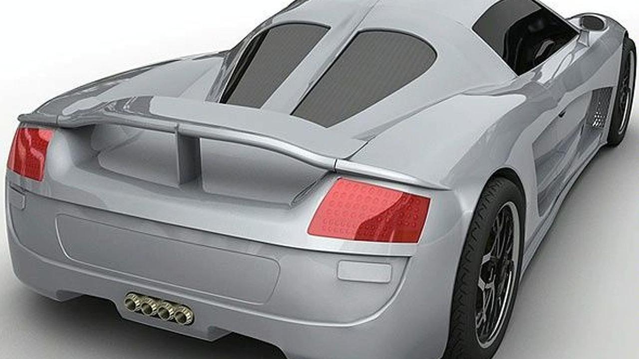 Hybrid Technologies 220mpg Supercar