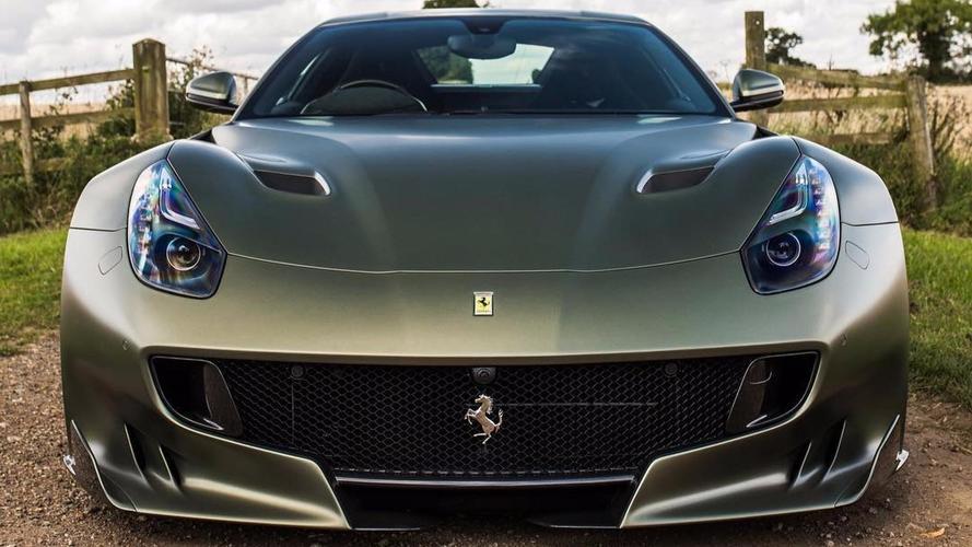 La dernière Ferrari F12tdf arbore une couleur unique !