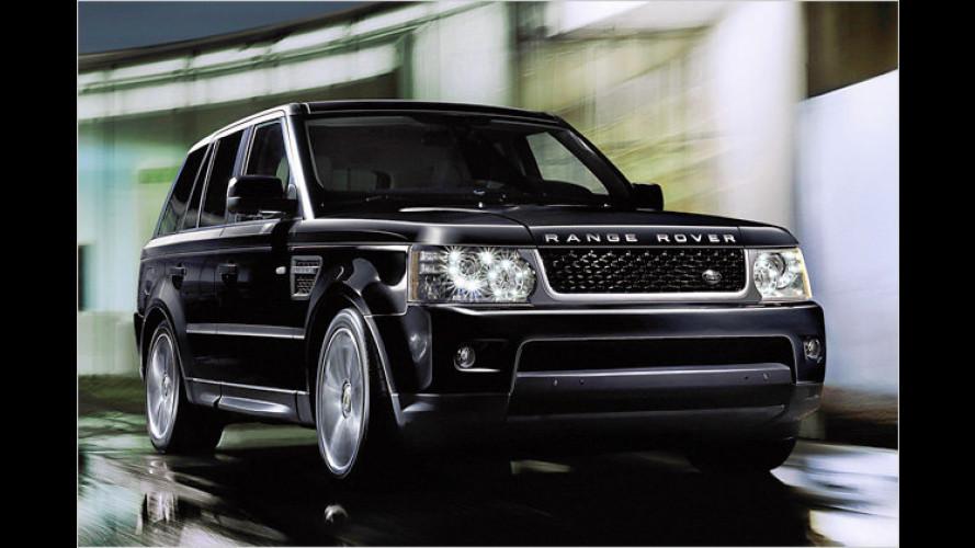 Exklusiv und mehr Komfort: Range Rover Sport Fashion