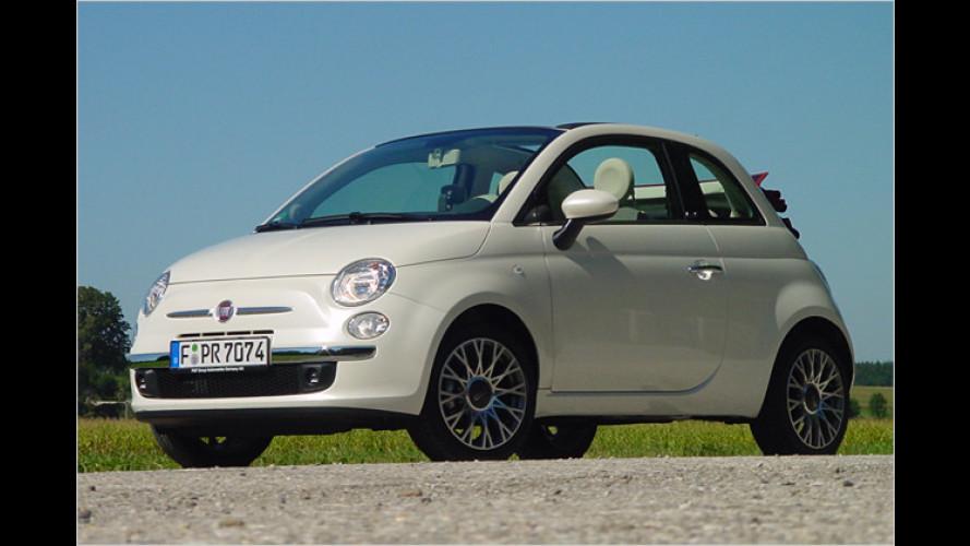 Fiat 500C: Schickes Beinahe-Cabrio zum günstigen Preis