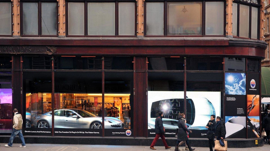 How much for that Fisker Karma in the window?