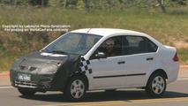 SPY PHOTOS: Ford Fiesta Restyling