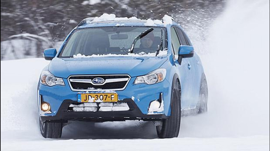 Subaru, in Norvegia con la Symmetrical AWD