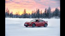 Toyota GT86, la prova tra neve e ghiaccio