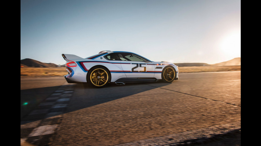 BMW CSL 3.0 Hommage R, le corse nel sangue