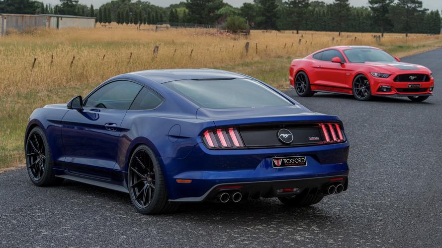 Tickford modifiyeli Ford Mustang