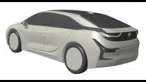BMW i5 ganha projeção baseada em imagens de patente vazadas