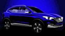 MG ZS leaked official photos
