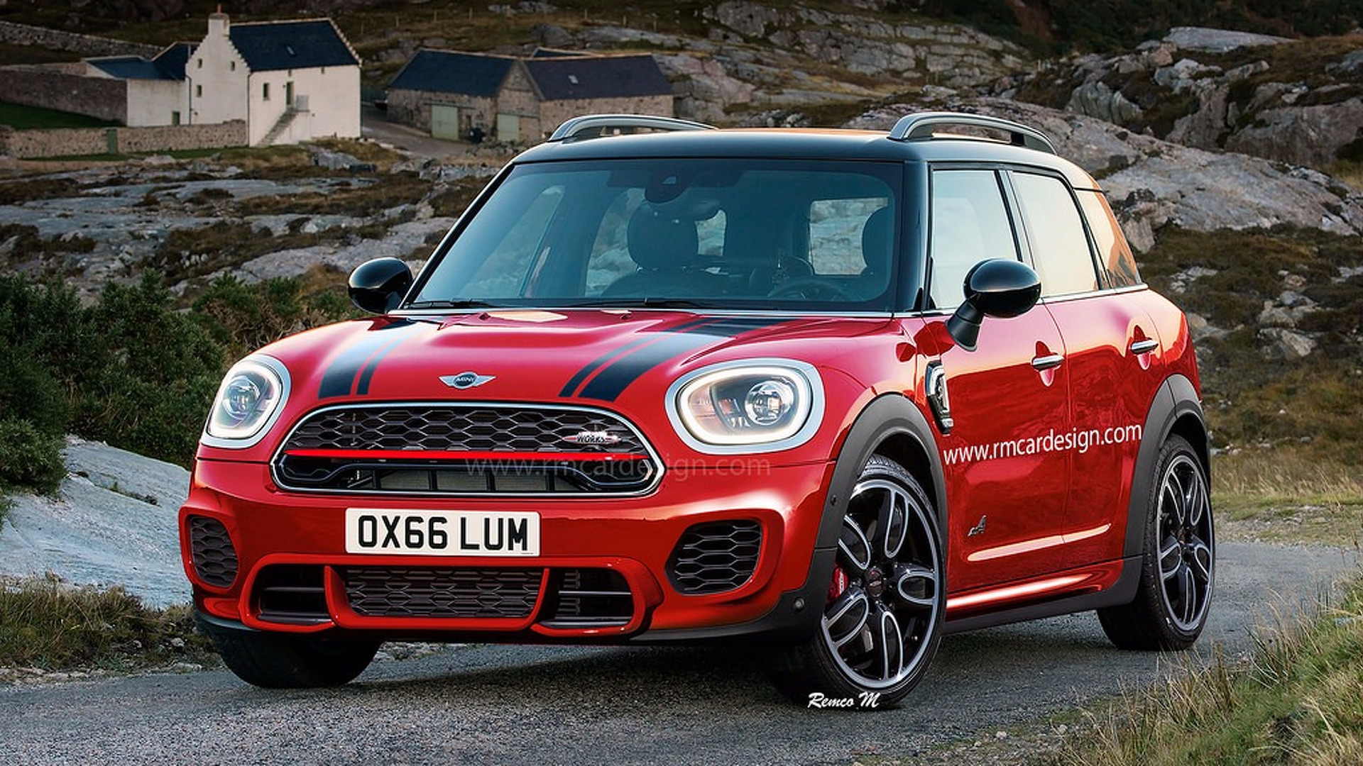 le prochain mini countryman jcw devrait ressembler a. Black Bedroom Furniture Sets. Home Design Ideas