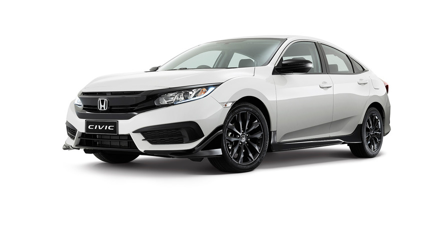 Honda Civic Black Pack Edition is an accessories showcase