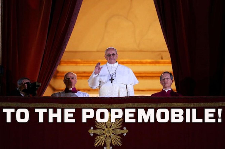 The Next Popemobile
