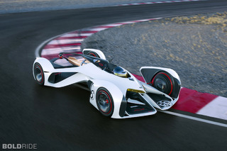 Chevy Chaparral X2 Concept Races to 240MPH…In Virtual World